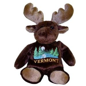 NWOT New MaryMeyer Vermont Moose Gift
